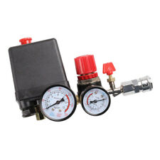 Air Compressor Switch Valve Manifold Regulator Gauge