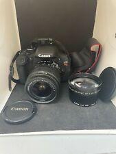 Canon DS126311 EOS Rebel T3I Digital SLR Camera EXTRA LENS 18-55MM & 58MM