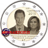 2 Euro Commémorative Luxembourg 2015 - Trône Grand Duc Henri