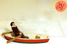 Barca a remi con Ruderer Preiser legno h0 pre208 Å √