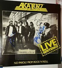 Graham Bonnet Signed Alcatrazz autograph Yngwie Jimmy Waldo COA proof a