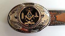 MASONIC  Trophy Style MASONIC Buckle  New