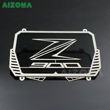 CNC Motorcycle Off Road Black Radiator Guard Cover Grille For Kawasaki Z900 2017