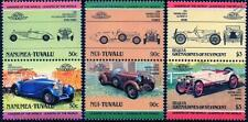 HISPANO SUIZA Collection of 6 Car Stamps (Auto 100 / Leaders of the World)