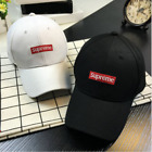 2017 Fashion Baseball Hat SUPREME BOX LOGO CAMP CAP BLACK White pink