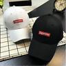 2017 Fashion Baseball Hat SUPREME BOX LOGO CAMP CAP BLACK White pink