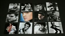 Elvis Presley Photos Fridge Magnets Set of One Dozen 12