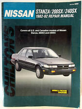 Sx 240 ebay 82 92 chiltons nissan stanza 200sx 240sx repair manual wiring fandeluxe Image collections