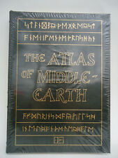 Easton Press The Atlas of Middle Earth SEALED Leather Bound K. W Fonstad Tolkien