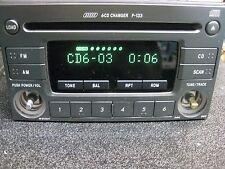 P-133 Subaru Impreza 2004 - 2006 AM FM Factory Radio 6 Disc CD Player 86201FE210
