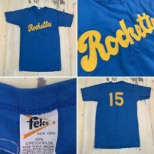 FELCO - Rockettes Vtg 70s Sports Baseball Softball T-shirt Jersey, Adult SMALL