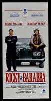 Plakat Ricky E Ba Renato Cockpit Christian De Sica Auto Car Verbania N54