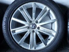 ALUFELGEN ORIGINAL VW TIGUAN Typ 5N NEW YORK mit SOMMERREIFEN 235/50 R18 7mm
