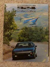1978 Porsche 924 Limited Edition Showroom Sales Folder, Brochure, Prospekt RARE!