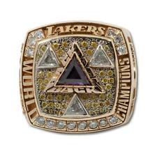 2002 Los Angeles LAKERS World Championship Ring! 14 K Gold & 78 Diamonds !