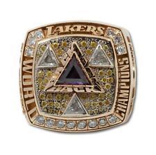 2002 Los Angeles LAKERS World Championship Ring! 14 K Gold & 78 Diamonds !