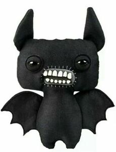 """Fuggler Funny Ugly Monster Toy Chase Black Bat Wings 9"""" Rare Figure 