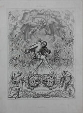 Johann Baptist Sonderland (1805-1878) - Rinaldo Rinaldini  Groteske - Radierung