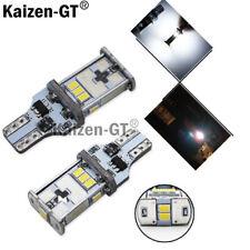Xenon White Error Free T15 LED Bulbs For Euro Car Back up Reverse Lights 912 92