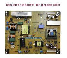 Repair Kit Capacitors LG TV 42LS3400 For Power Supply EAX64604501 LGP32-12P