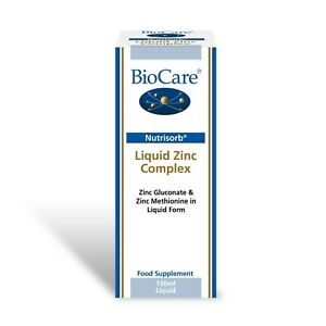 BioCare Nutrisorb Liquid Zinc Complex - 150ml   -  Support immune system