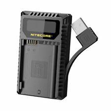 Nitecore UNK2 USB Dual Slot Ladegerät zum Laden von 2 x Nikon EN-EL15 Batterien
