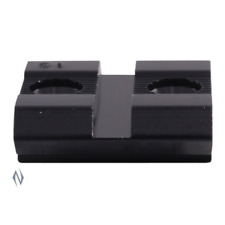 Weaver Top Mount Base 16 Savage MKII 93 93R17 & Marlin 39A Front Black 48016