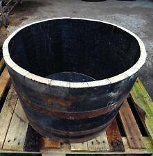 Half 40 Gallon Whisky Barrel Planter 90 Litres Oak Whiskey Plant Container