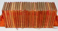 26 Leather Bound Books by RUDYARD KIPLING The Jungle Book Just So Stories Kim &c