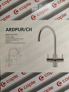 Caple Ardor Triple Lever Kitchen Tap Chrome