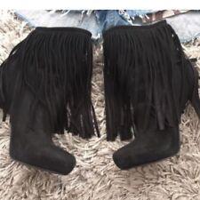 e91caf94c0c96 Buffalo Damenstiefel & -stiefeletten Fransen günstig kaufen | eBay
