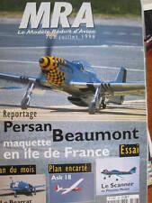 MRA Le Modele Reduit d'Avion Magazine #703 Juillet 1998-Plan Encarte Ask 18