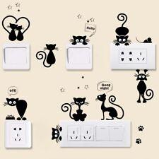 Cartoon&Cat Light Switch Wall Stickers Phone Sticker Home Decor Decals Mural Art