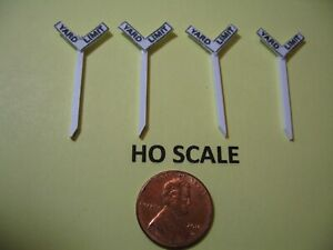 NEW DON/'T CLIMB BRIDGE, DO NOT STOP//DRIVE HO SCALE SET 0F 5 TRACKSIDE SIGNS