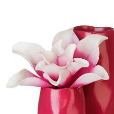Moderne Fleur artificielle verano Fuchsia/blanc longueur 27 cm 2 pièces