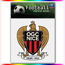 "OGC Nice UEFA Die Cut Vinyl Sticker Car Bumper Window 4""x3.5"""