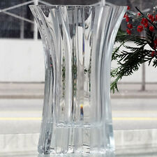 """AKIDO Vase 8.75"""" tall Lead Crystal NEW NEVER USED #30275 made in Germany PEILL"""