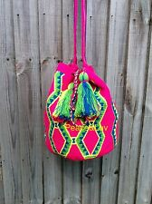 Authentique Colombian Wayuu Mochila una hebra quality!