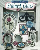 Stained Glass in Plastic Canvas The Needlecraft Shop 90PH13 1990