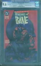 Batman Vengeance of Bane 1 CGC 9.6 Chuck Dixon 1st Bane Origin 2nd Pr 93