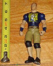 2013 WWF WWE Mattel John Cena Superstar Enterance Wrestling Figure Blue Shirt