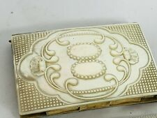 More details for victorian mother of pearl card case aid memoir