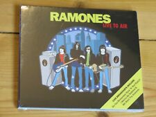 NEW/SEALED CD The RAMONES Live to Air (greatest hits in concert)