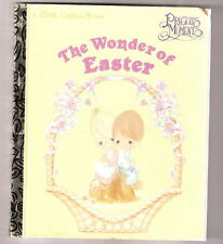 Little Golden Book  THE WONDER OF EASTER   1997 1ST printing