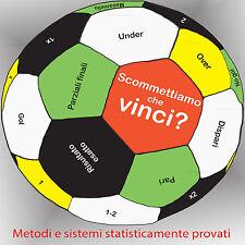 Manuale scommesse sportive NUOVI metodi e sistemi per scommettere sul calcio