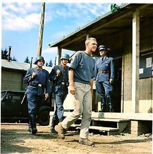 THE GREAT ESCAPE STEVE MCQUEEN HILTS RECAPTURED GREAT PHOTO