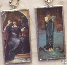 THE MAGIC CRYSTAL / CIRCE  ART GLASS PENDANT