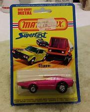 Matchbox 39 Clipper  MOC BP MIP carded 1/64 Superfast Blister 1976