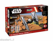 Star wars vii First order forces spéciales tie fighter, revell Kit 06751