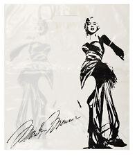 TOP 50 Plastiktüten Tragetaschen im Marilyn Monroe Look  29x40cm Neutral